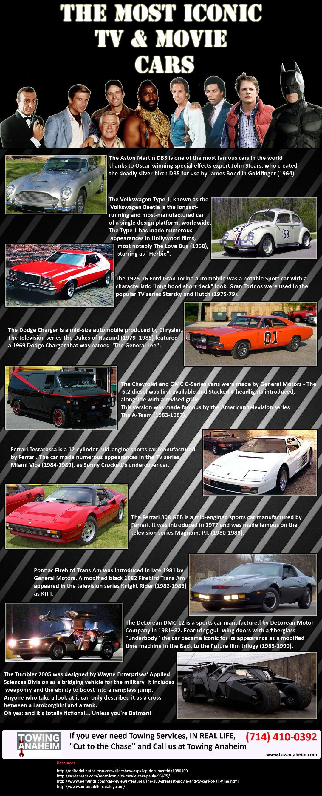 iconic tv and movie cars